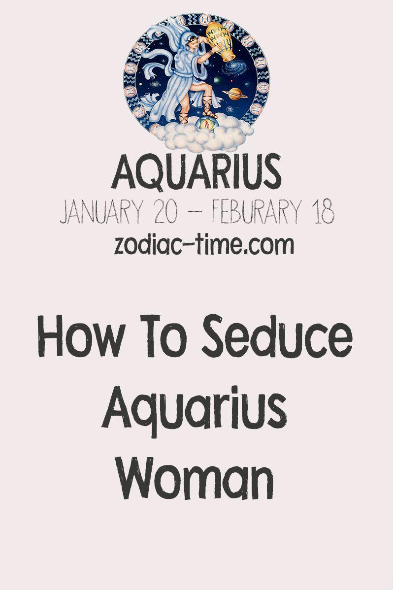 How to seduce aquarius woman