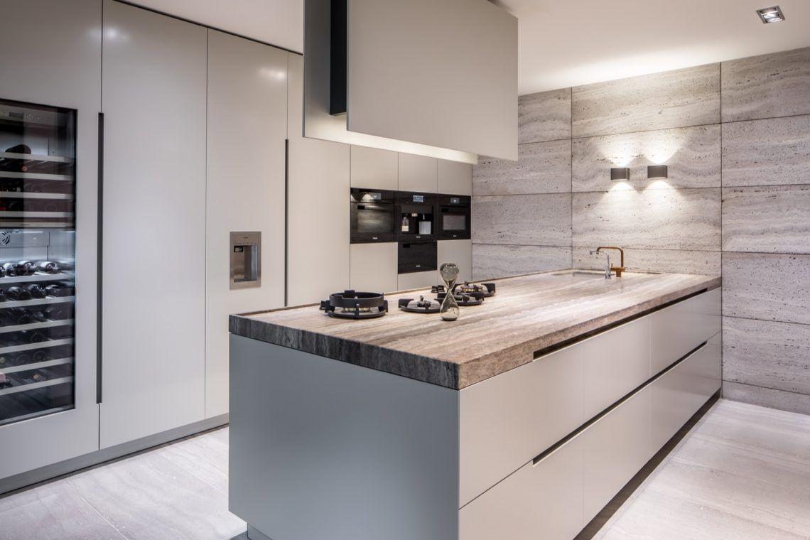 Inspiratie Witte Keuken : Van boven luxe witte keuken hoog □ exclusieve woon en tuin