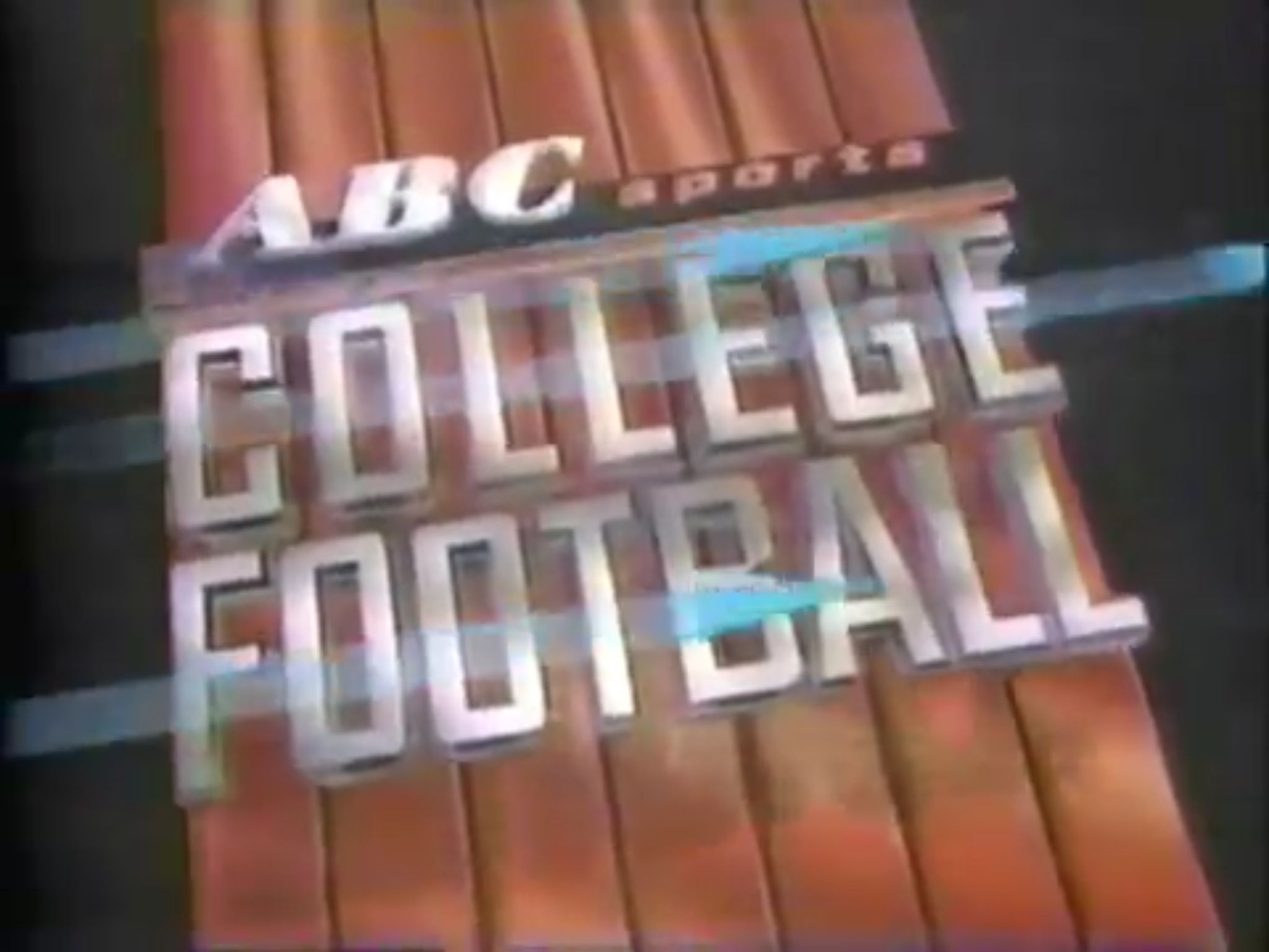 1989 College Football opening