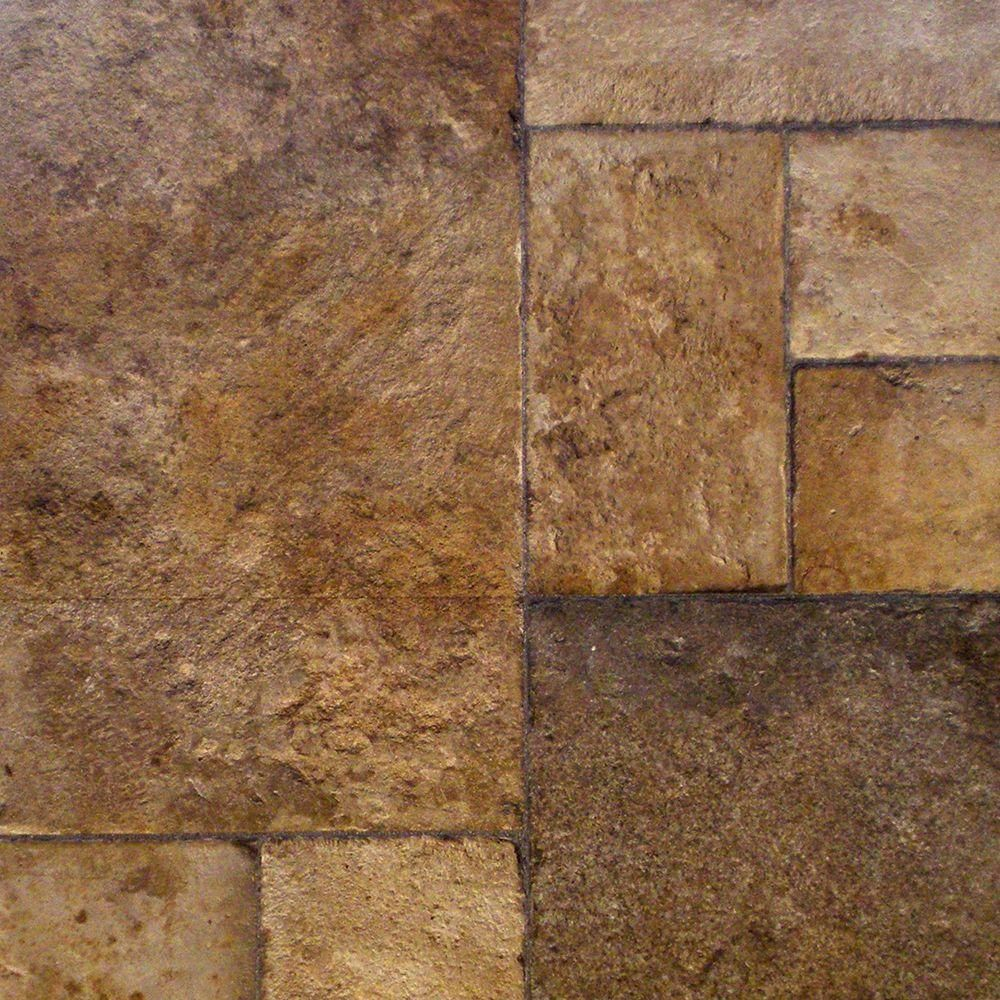 Home Decorators Collection Tuscan Stone Bronze 8 mm Thick x 16 in ...