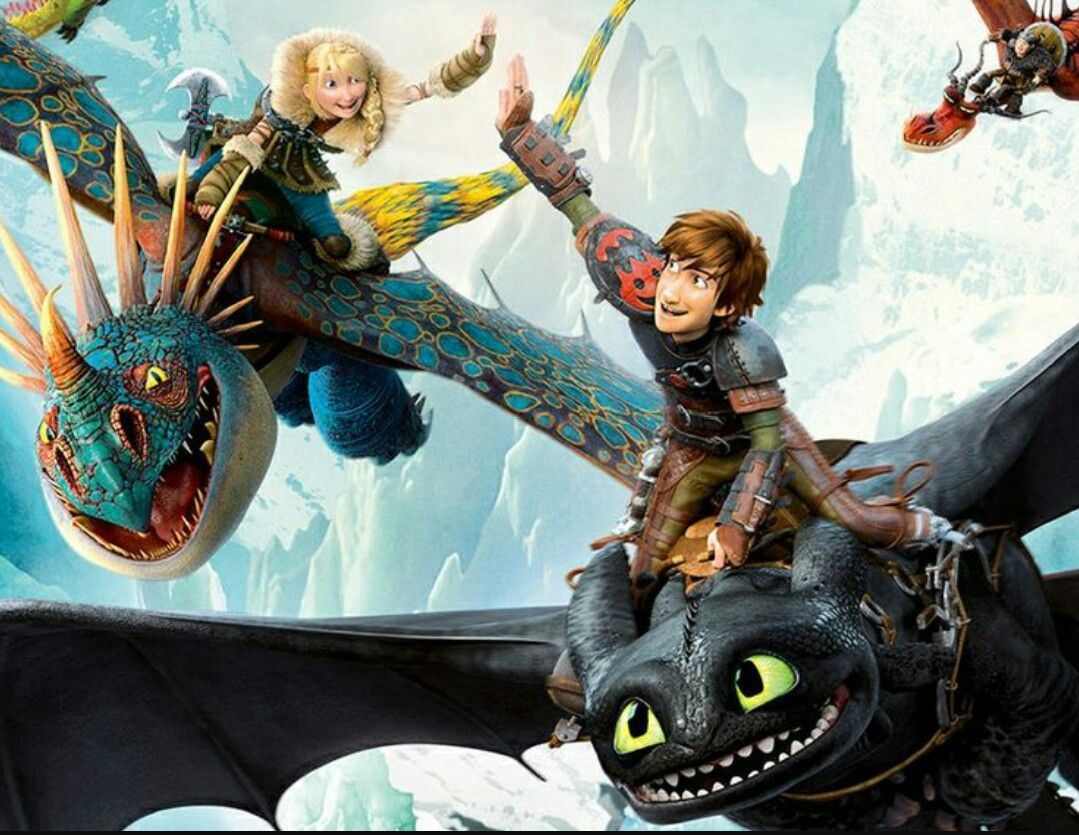 hiccup and toothless astrid and stormfly