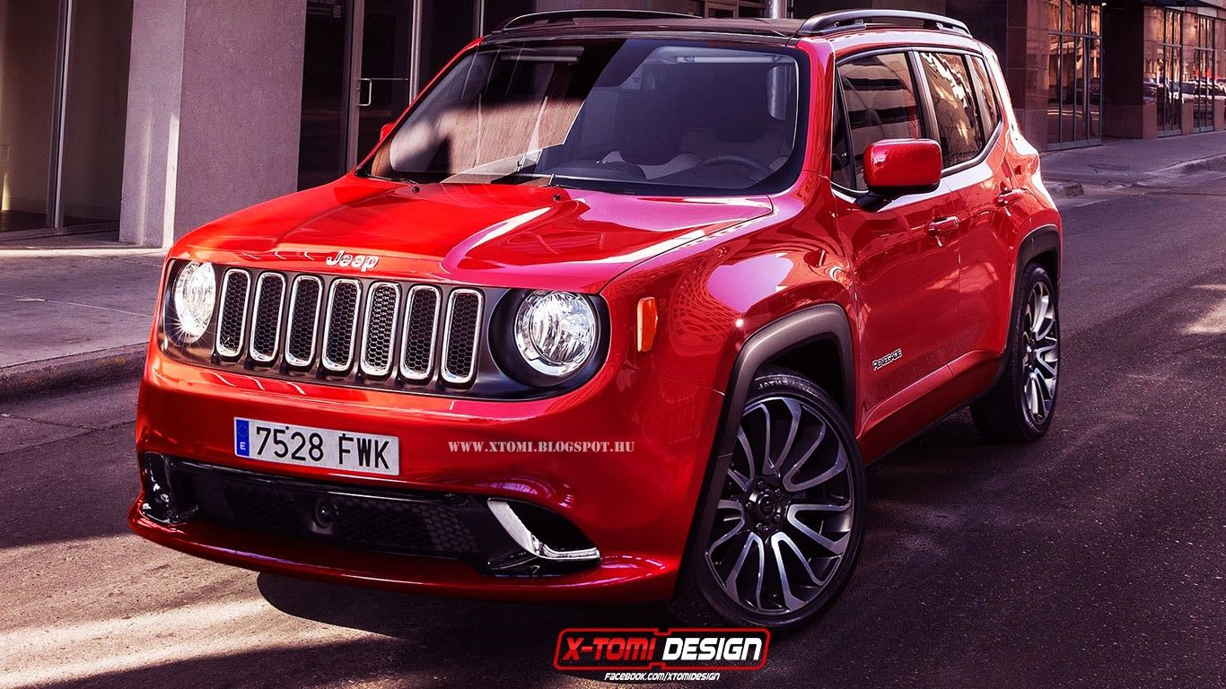 Unveiled about a week ago at the geneva motor show the tiny and cute 2015 jeep renegade is already popular among what if photoshoppers