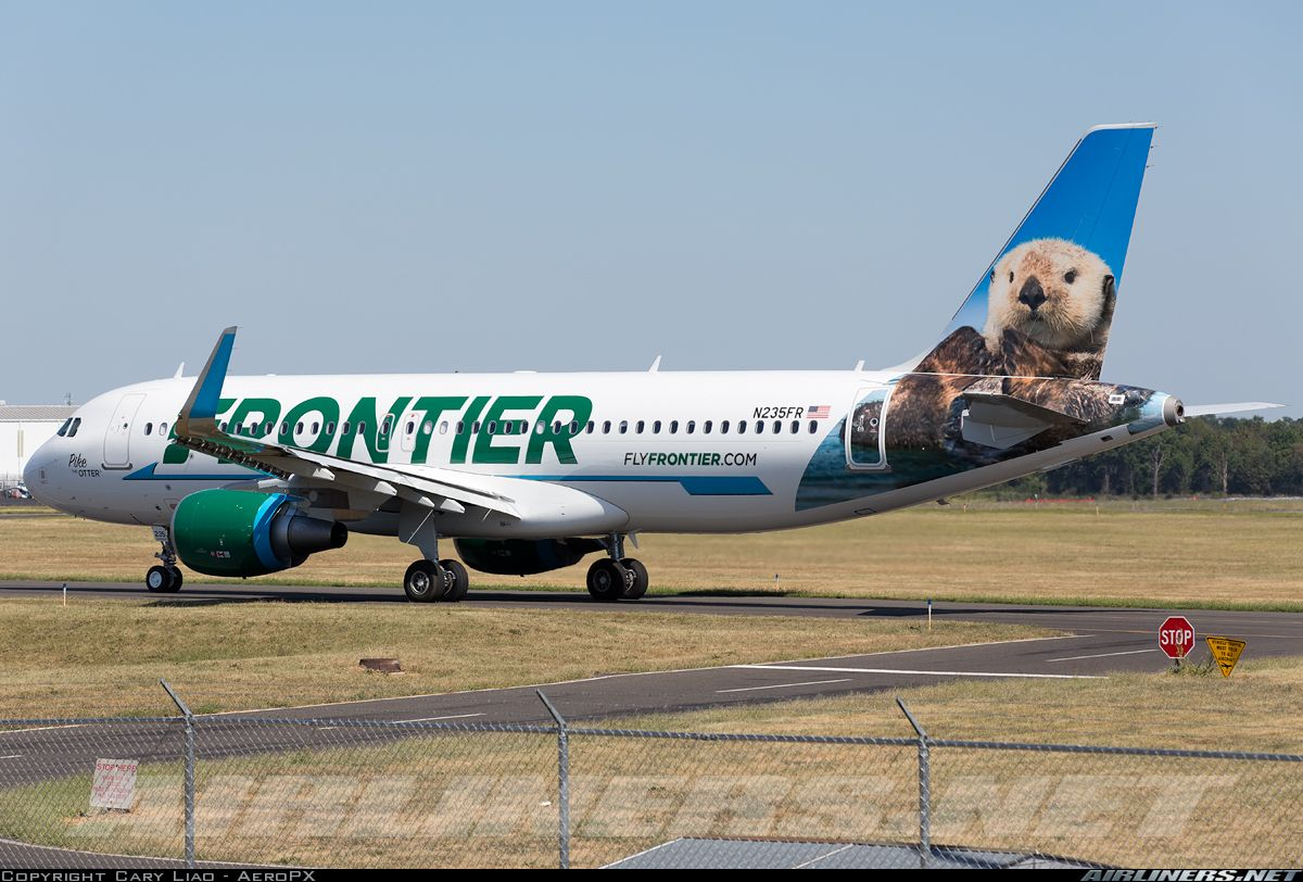 Frontier Airlines' latest Airbus A320,