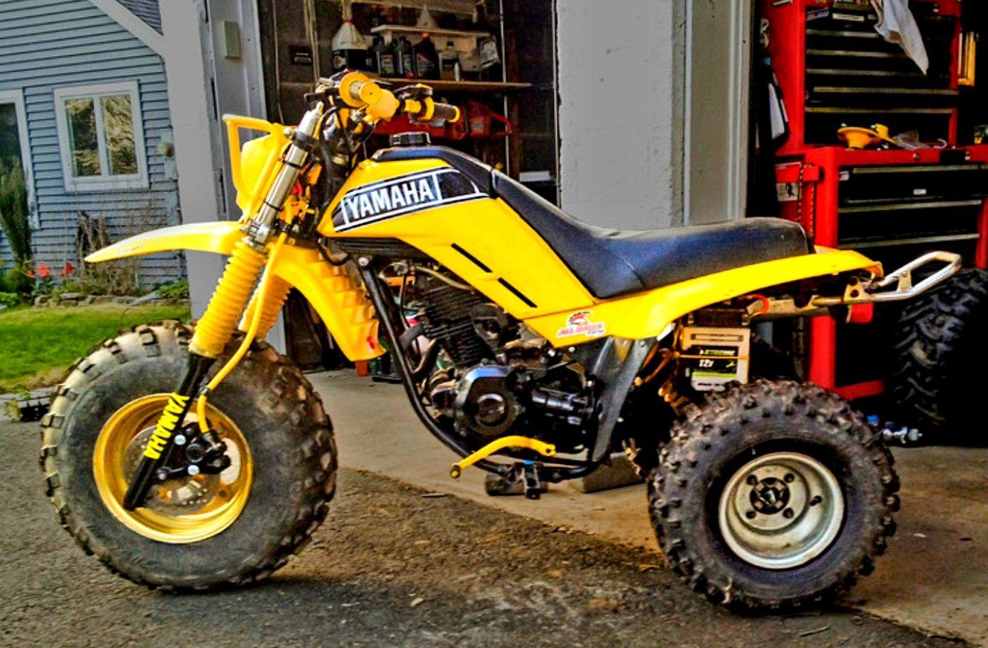 Custom Yamaha 225dx With Tri Z Frontend Yamaha Trike Yamaha