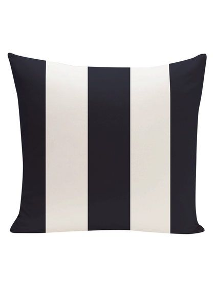 Awning Stripe Stripe Pillow by e by design at Gilt