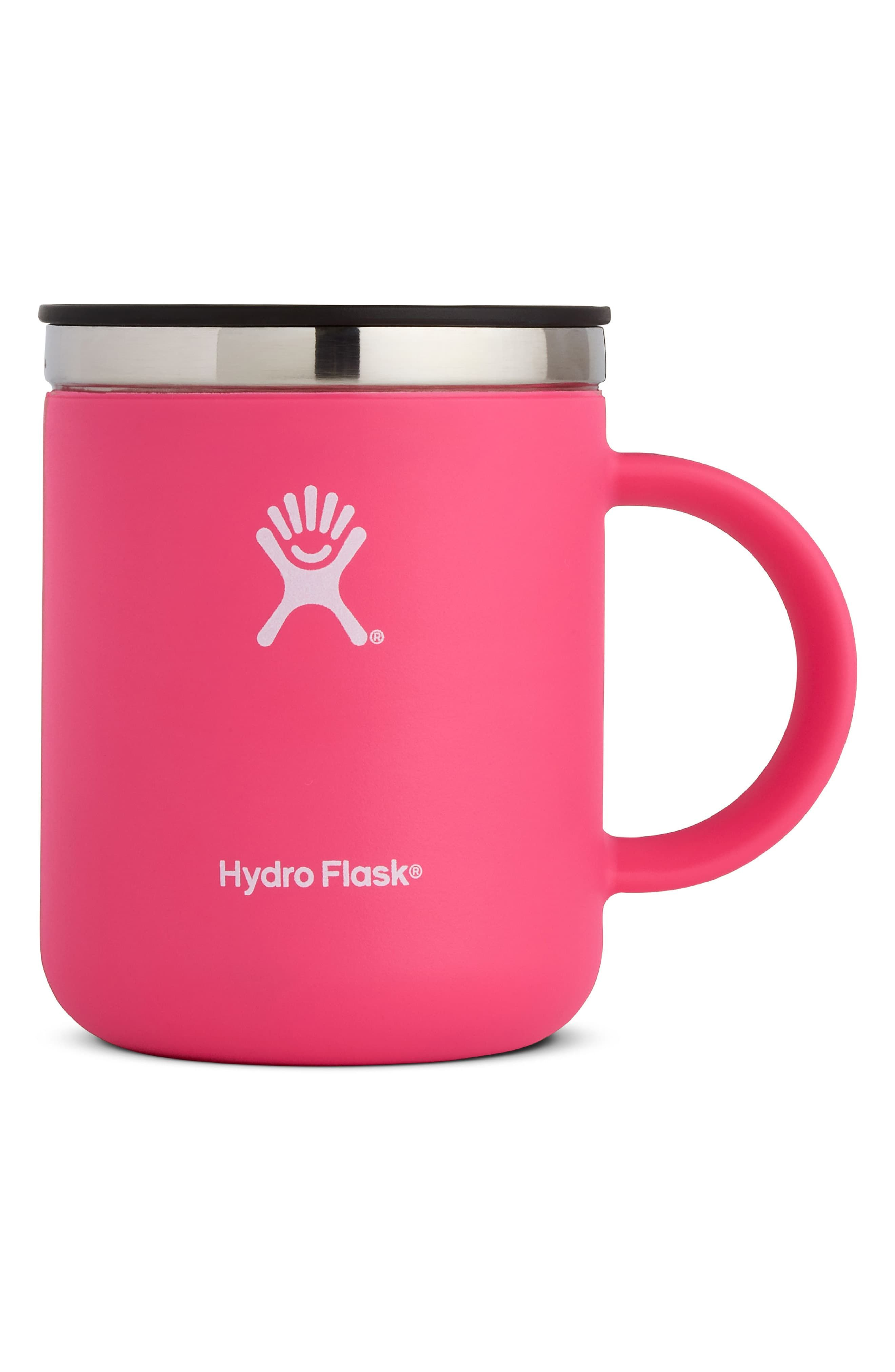Hydro flask 12ounce coffee mug size one size pink