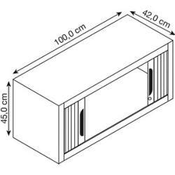 Photo of Cp Omnispace Aufsatz-Rollladenschrank anthrazit/anthrazit keine Fachböden Cpcp