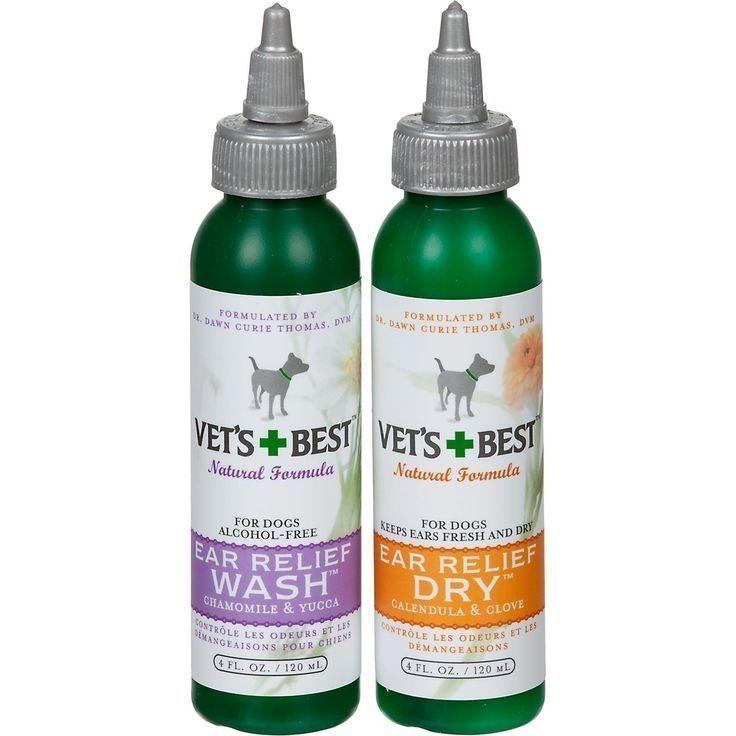 Vets Best Animal Ear Care Supplies Pet Supplies Dog ear