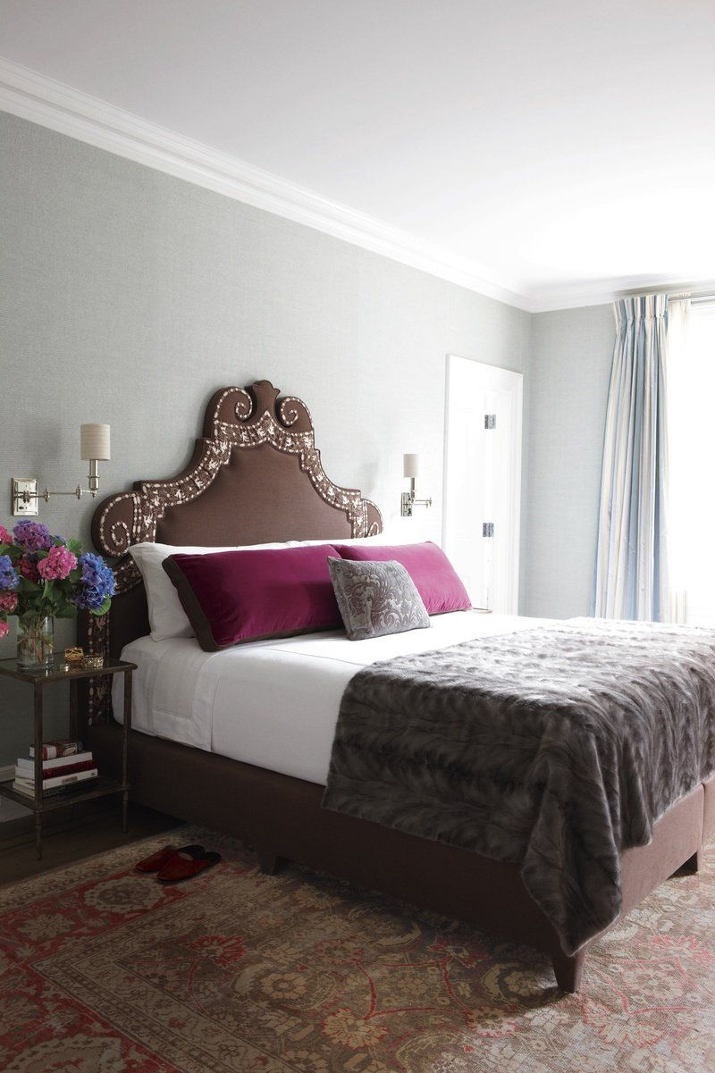 Master bedroom new design  Bedroom in New York NY by Robert Couturier Inc  Dressing the