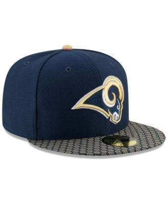 f876c145604 New Era Boys  Los Angeles Rams Sideline 59FIFTY Fitted Cap - Blue 6 5 8