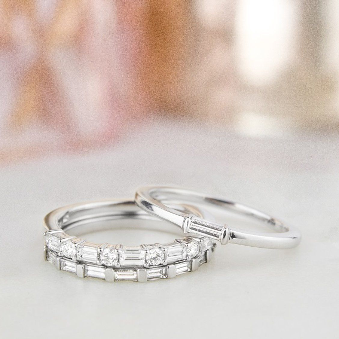 Stack on the sparkle! Build your perfect ring stack from