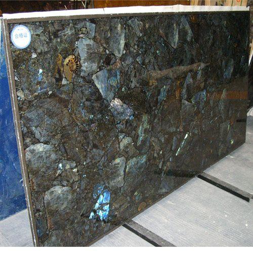 Granite Kitchen Countertop Prices: Labradorite Granite Slab Price
