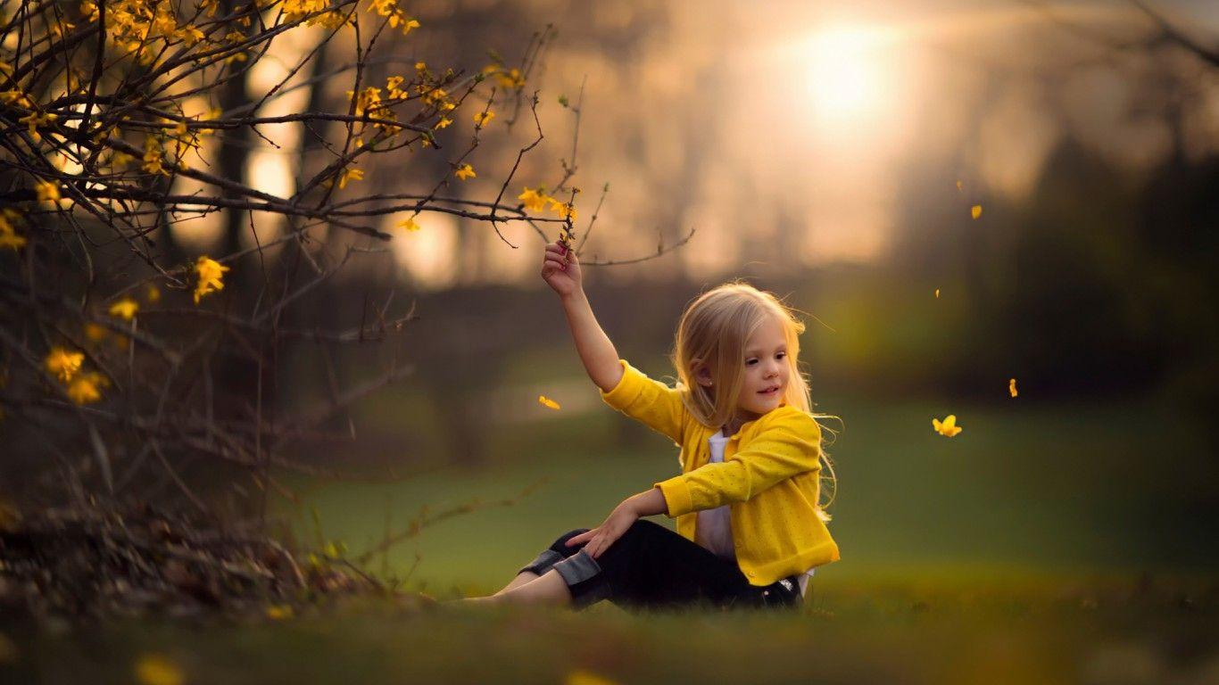 Скачать обои spring indeed, девочка, природа, раздел ...