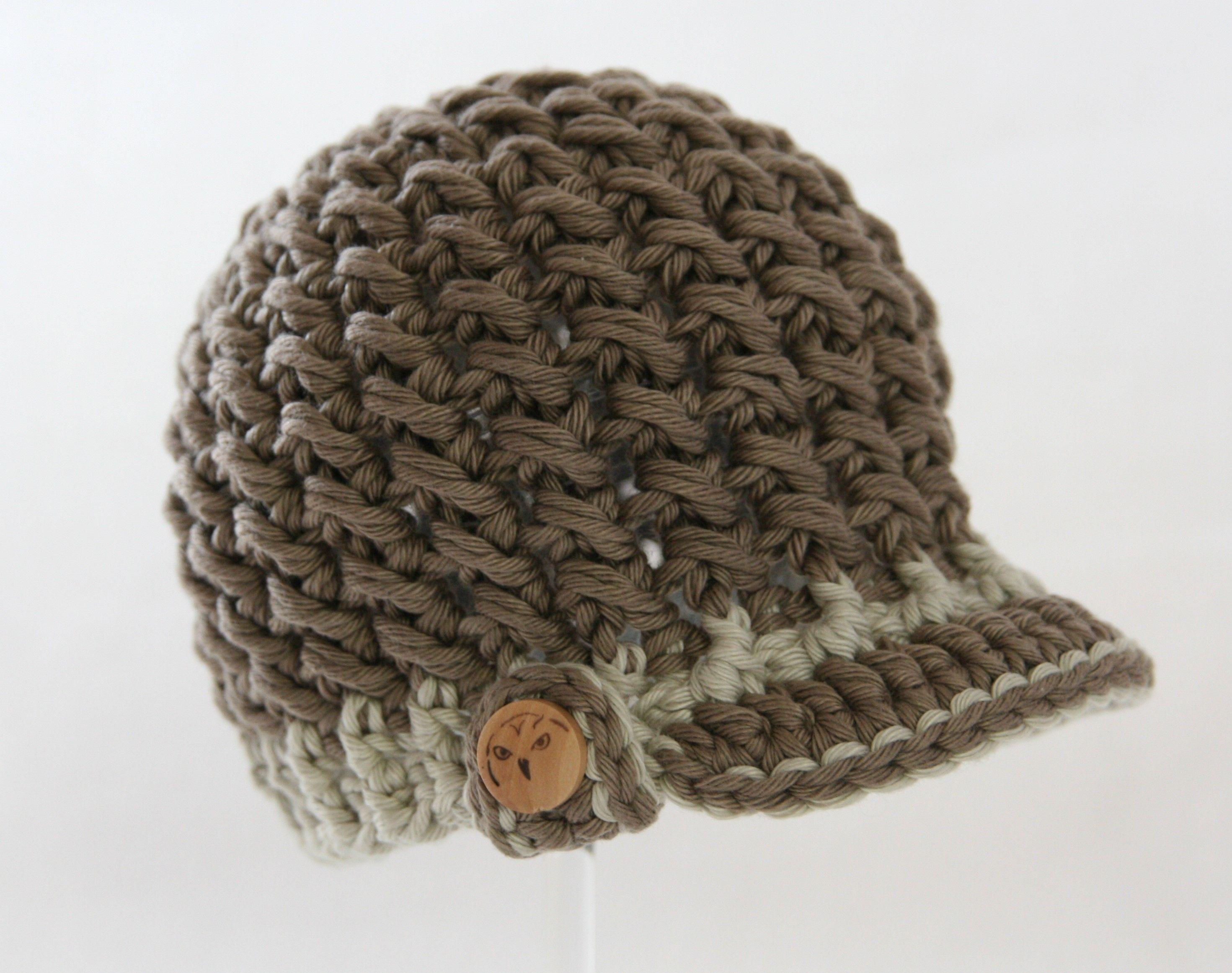 coole Mütze gehäkelt für Jungs | Kinder Mützen gehäkelt ...
