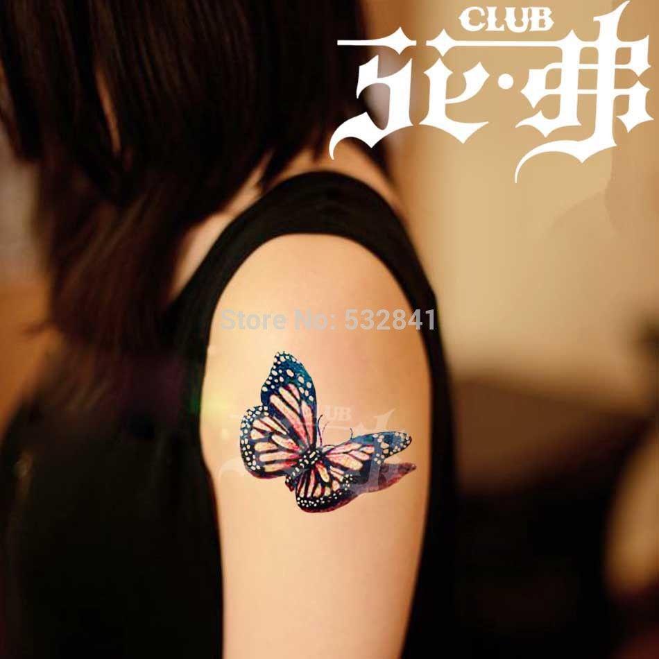 3d butterfly tattoos google search tattoo love pinterest. Black Bedroom Furniture Sets. Home Design Ideas