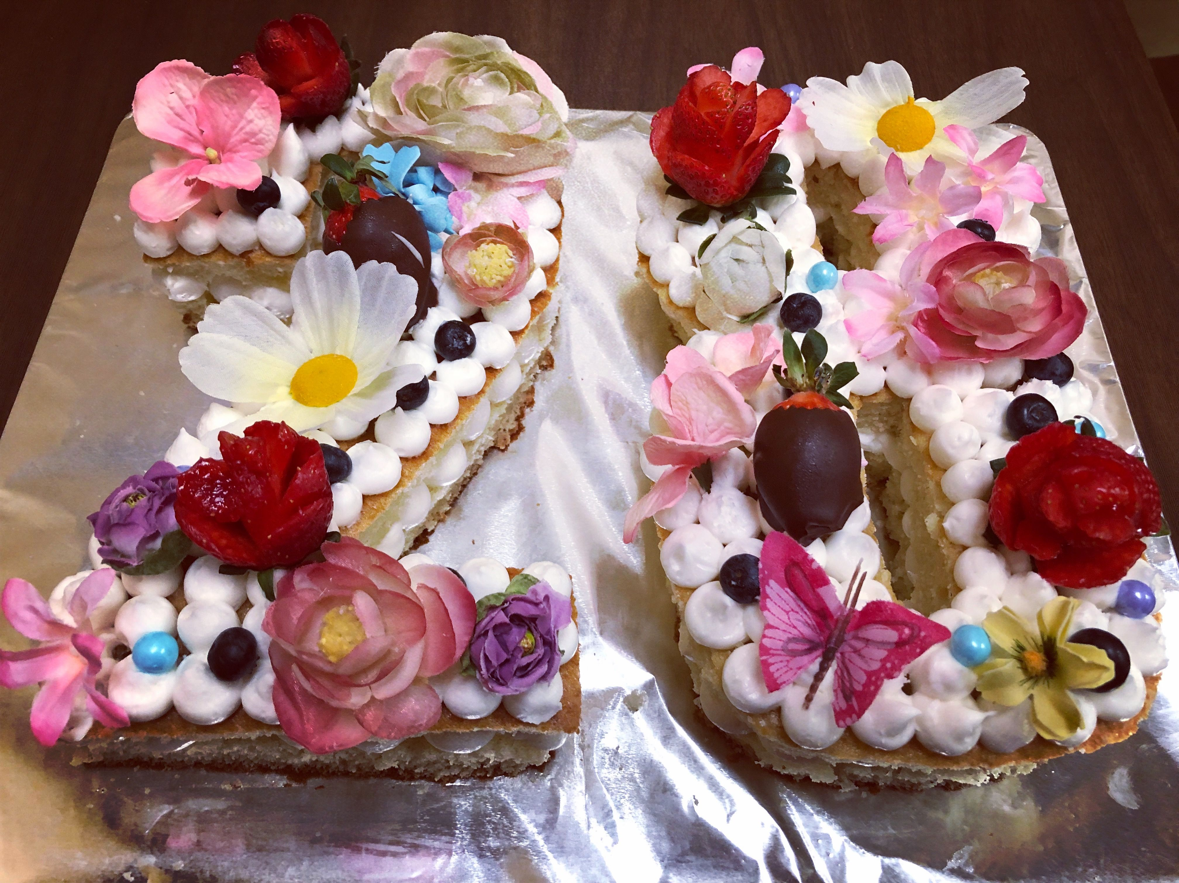 Sensational 28 Birthday Cake With Images 28Th Birthday Cake Macaron Birthday Cards Printable Inklcafe Filternl
