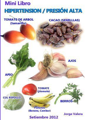 Plantas para la tension arterial