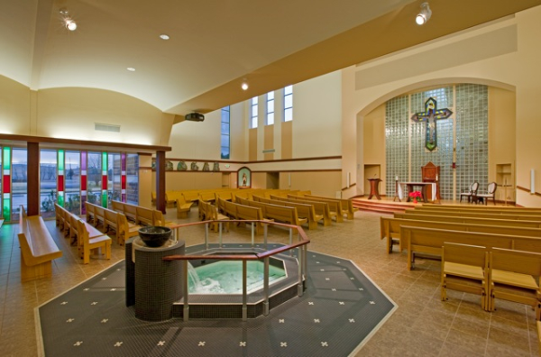 Church interior Design - Is Beige the Only Color? | Sanctuary Design ...
