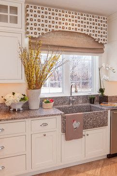 Window Treatment Concept For Kitchen? Cornice Board With Shad