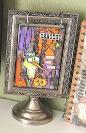 Kath's Blog with a Tim Holtz tag; Sept 2016  #timholtz #rangerink #sizzix #stampersanonymous #halloween #crazybirds