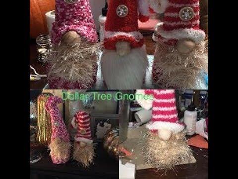 Dollar Tree DIY Quick & Easy Christmas GNOME YouTube