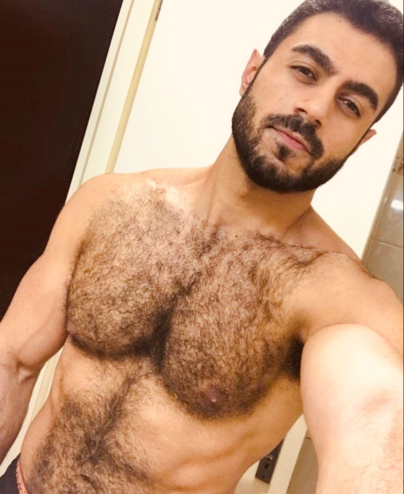 Amateur man bear