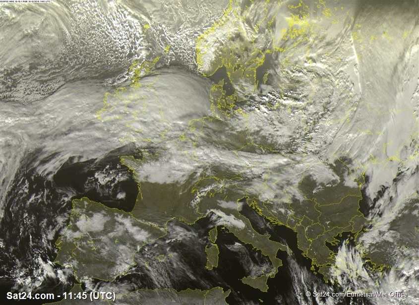 Sat24 Com Prognoza W Europa Europa Pogoda Satelita Pogody