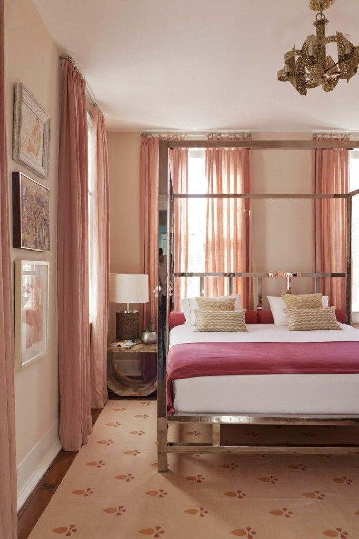 Schlafzimmergestaltung sch ne wohnideen f r mehr komfort im schlafbereich schlafzimmer ideen - Altrosa schlafzimmer ...