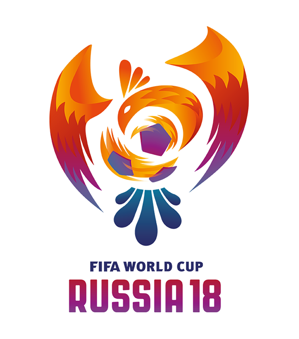 Commercial Logos Sports Russia 2018 Fifa World Cup Futbol