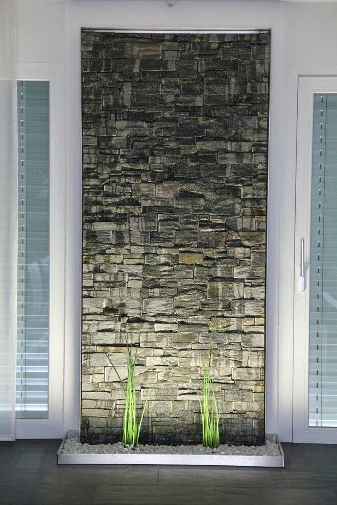 Water Wall Fuentes De Agua Interiores Jardines De Pared