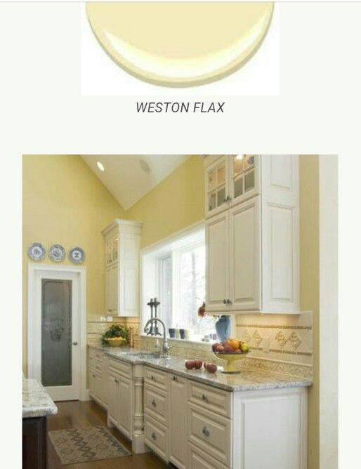 Weston Flax Benjamin Moore For The