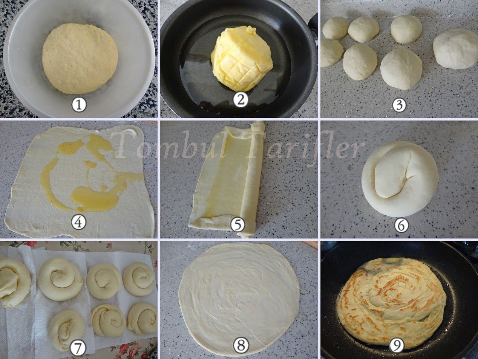 Tombul Tarifler, pratik yemek, yöresel tat, kek, kurabiye, börek, çorba, hamurişi ve diğerleri...: Tereyağlı Katmer