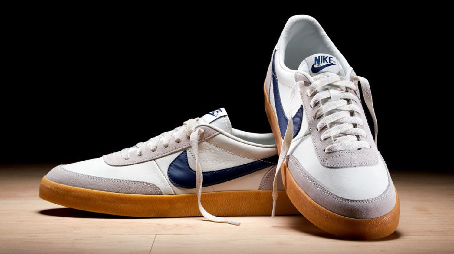 Buy Nike x J. Crew Killshot 2 Leather Sail/Midnight Navy-Gum Yellow Men's  at online store