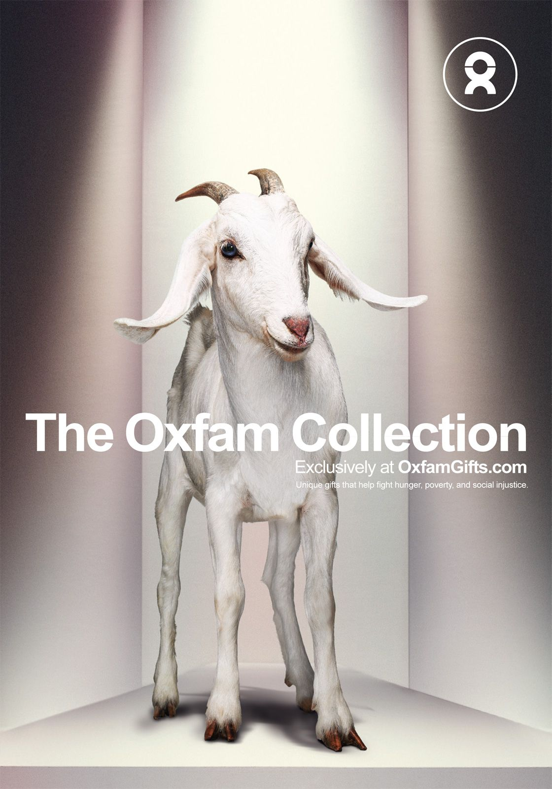 """""""The Oxfam Collection Unique gifts that help fight hunger"""