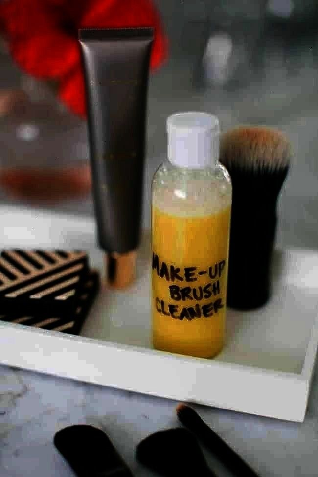 Diy Makeup Brush Cleaner Hello Glow How To Clean Makeup Brushes  Diy Makeup Brush Cleaner Hello Glow Diy Makeup Brush Cleaner  Diy MakeupbrushHow To Clean Makeup Brushes...
