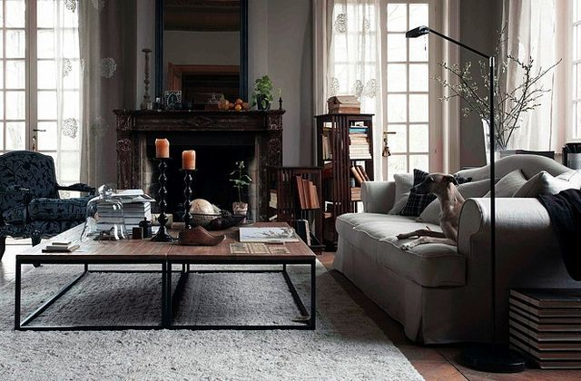 appealing industrial chic living room decor | 25 Best Industrial Living Room Designs | Small living room ...