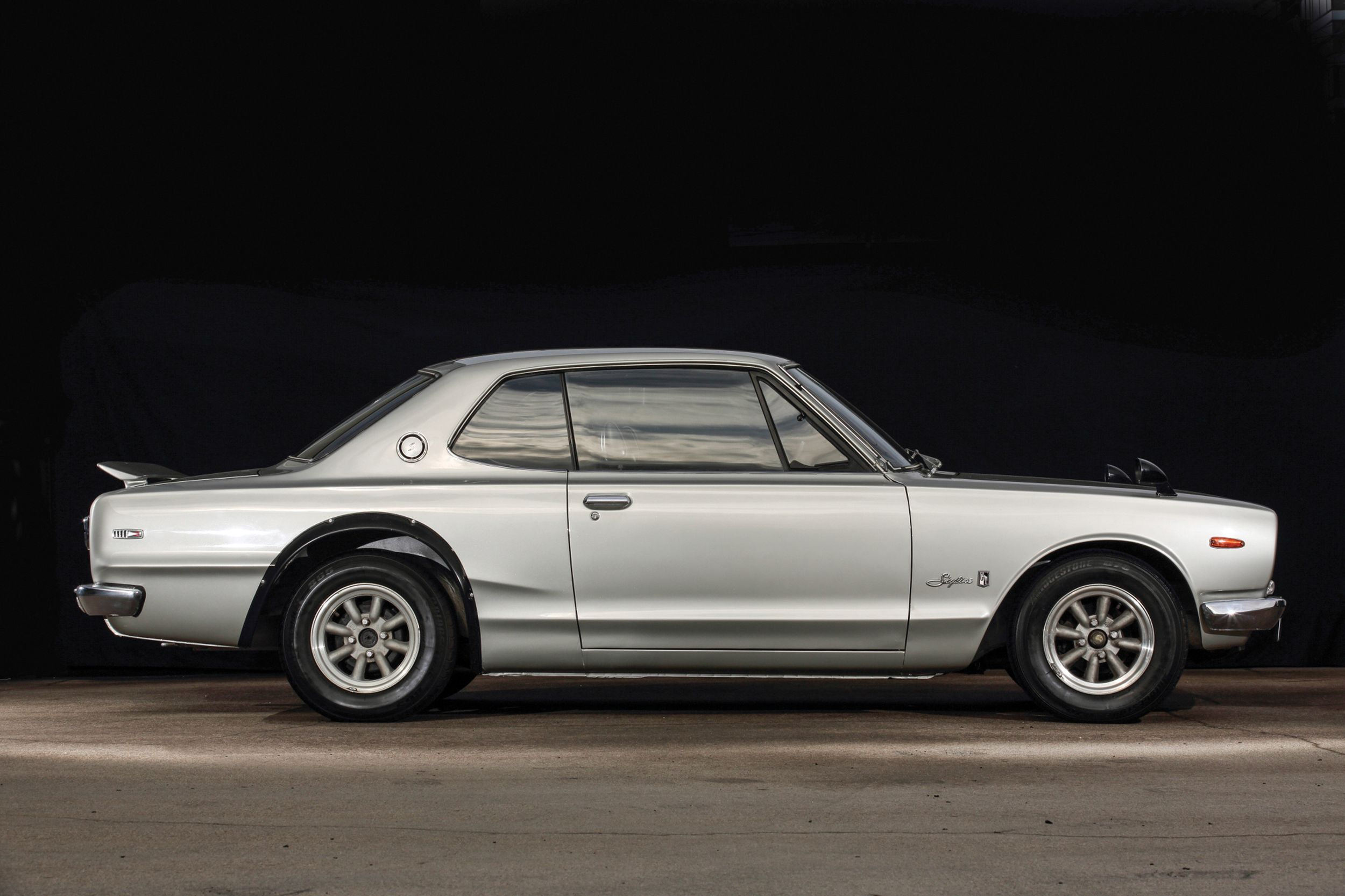 Trio of Japanese sports cars, including 1972 Nissan Skylin | Nissan ...