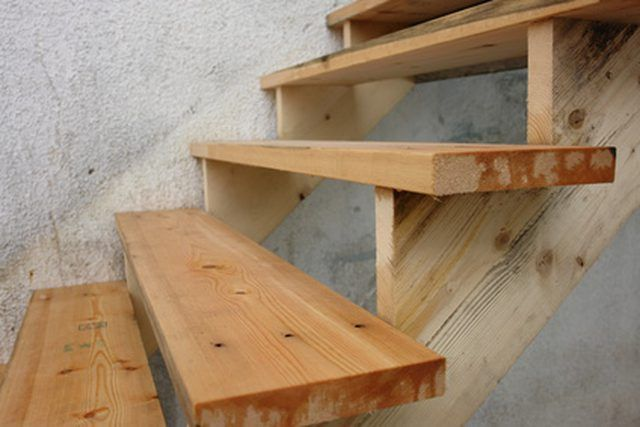 Best How To Build Portable Wooden Steps Exterior Stairs 400 x 300