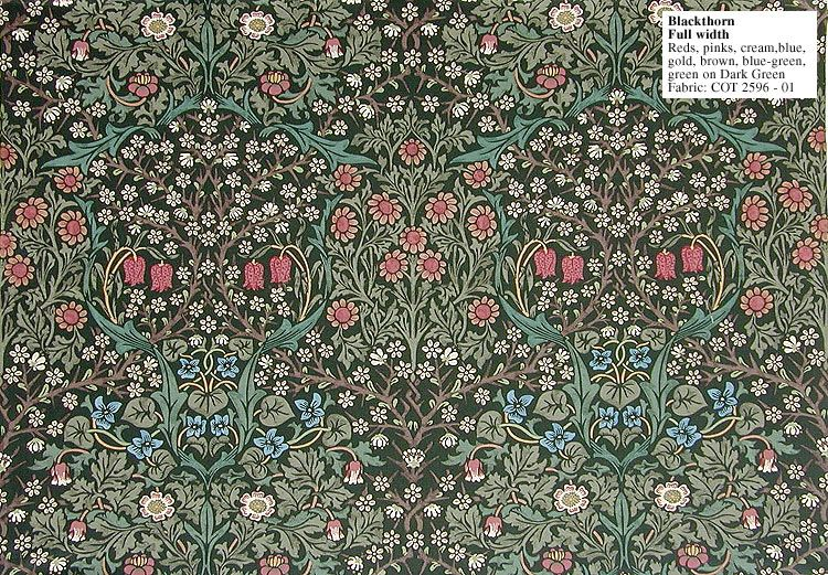 William Morris Blackthorn COT 259601 William morris