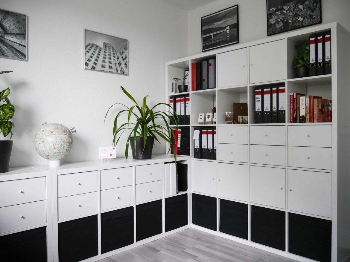 b ro einrichten kreative ideen zum nachmachen office decor ikea office home office storage. Black Bedroom Furniture Sets. Home Design Ideas