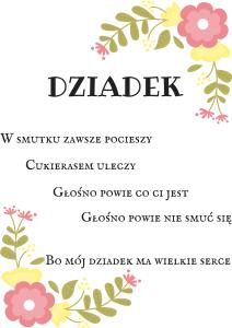12 Plakatów Na Dzień Babci I Dziadka Motheratorka