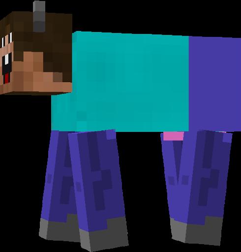 The Derpy Steve Cow Nova Skin Derpy Minecraft Anime Cow
