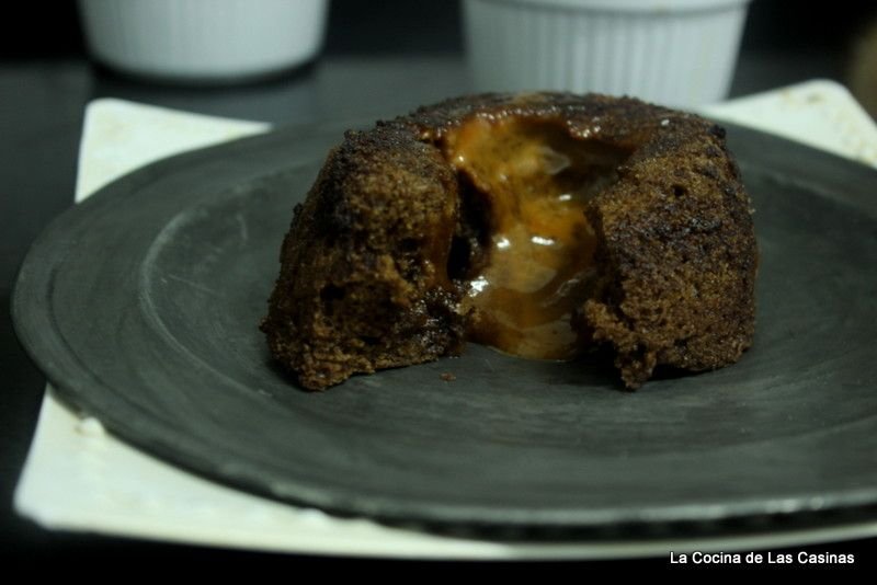 La Cocina de las Casinas: Coulant de Chocolate relleno de Crema de Toffee