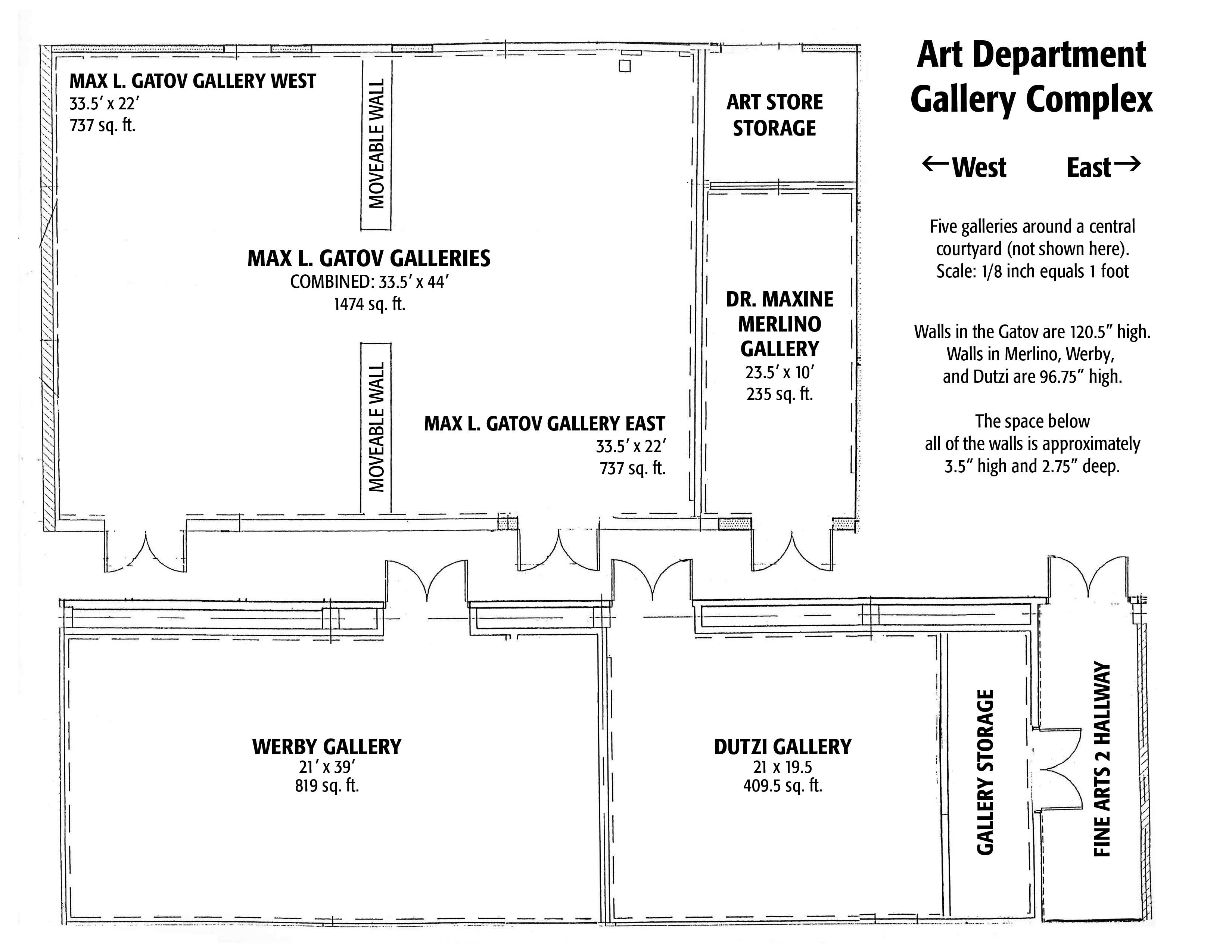 Students Gallery Guidelines Floorplans Art Gallery Interior Art Gallery Small Art