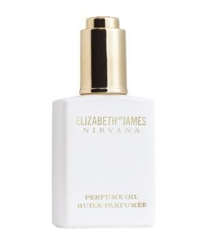 Elizabeth and James Nirvana White Perfume Oil. Peony and musk smell.