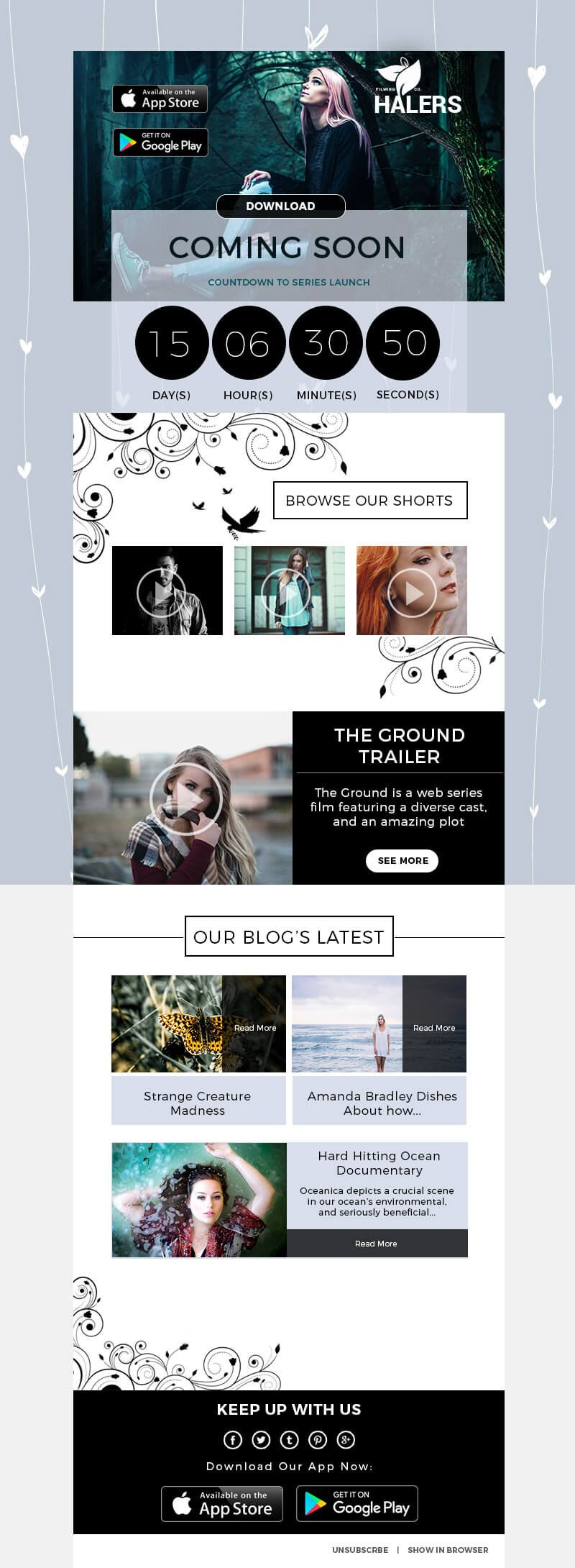 Film Photography Creative Photoshop Email Template | Pinterest
