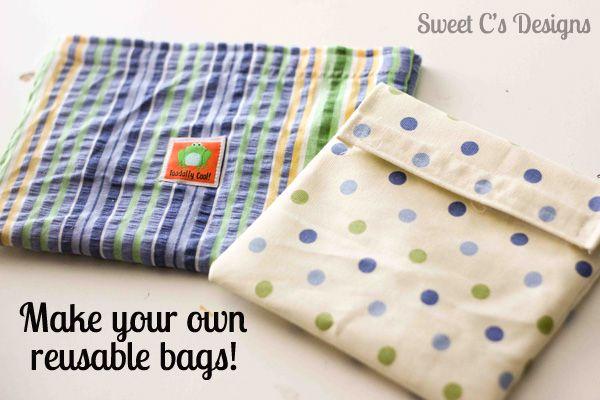 diy re-useable bags