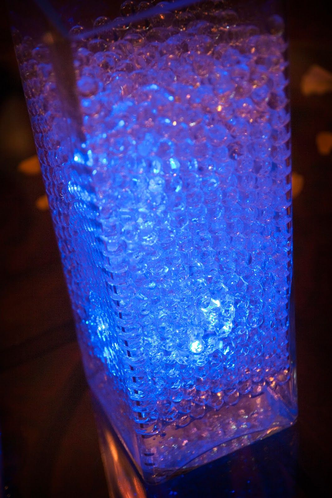 Water Bead Centerpiece With Led Lighting Water Beads