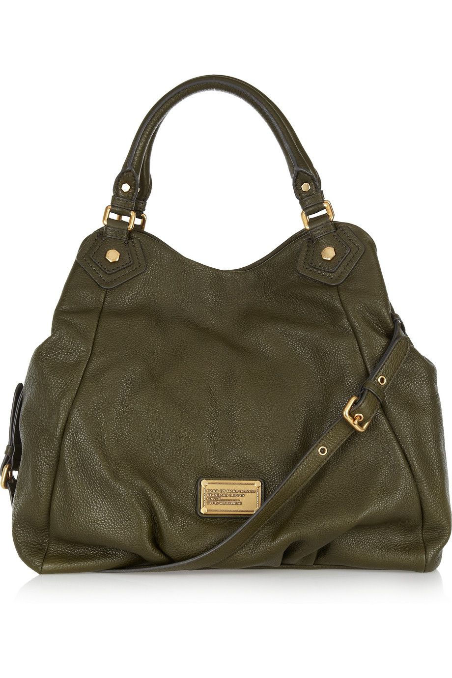 b747ba74971960 Marc By Marc Jacobs. Marc by Marc Jacobs Francesca textured-leather tote.