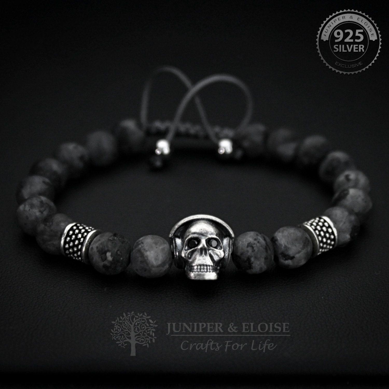 Skull Bracelet Mens Womens Uni